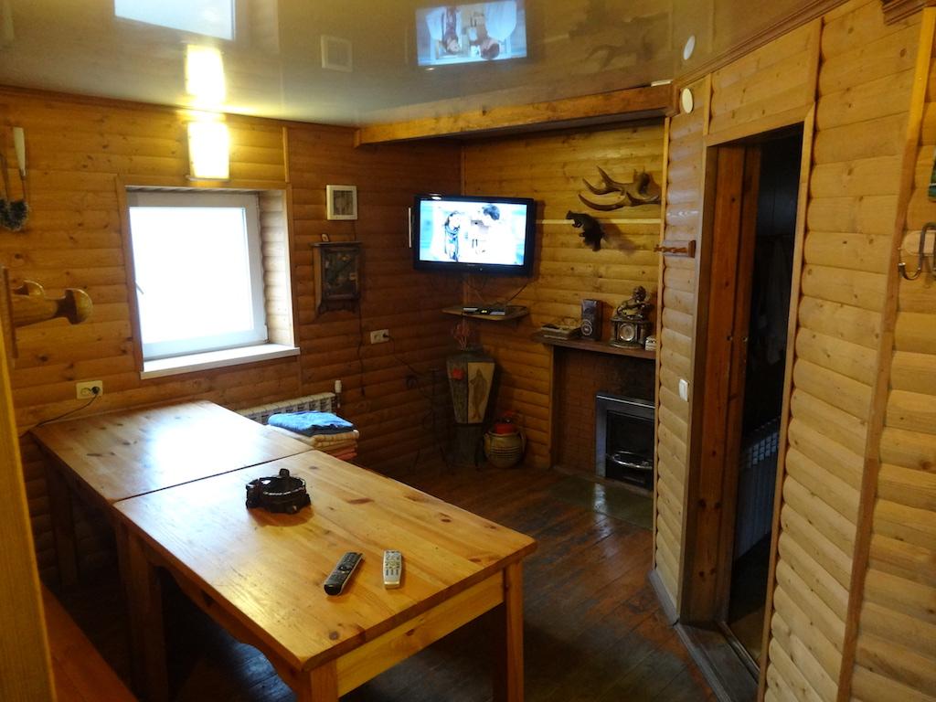 Комната отдыха при аренде бани